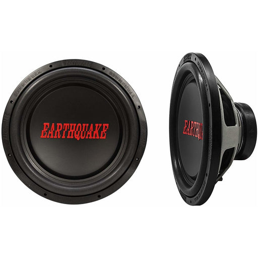 "Earthquake Sound TremorX-154 1500W 4 Ohm Voice Coil 15"" Car Subwoofer (3838983864384)"