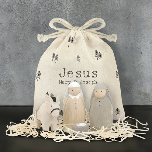 Bag set- Jesus, Maria e José