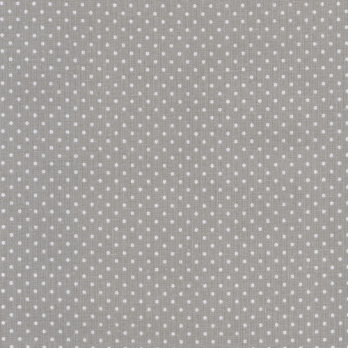 Tecido plastificado - dots grey