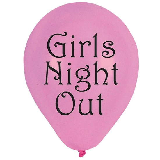 Balões rosa Girls Night Out
