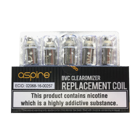 Aspire Standard BVC coils - The Vapour Co.