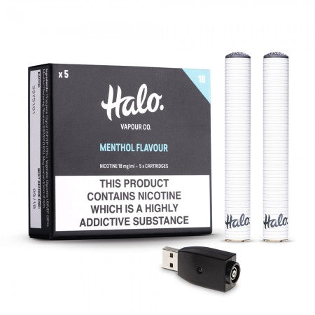 Halo Cigalike bundle - The Vapour Co.