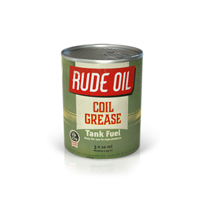Rude Oil 80/20 Coil Grease 30ml - The Vapour Co.