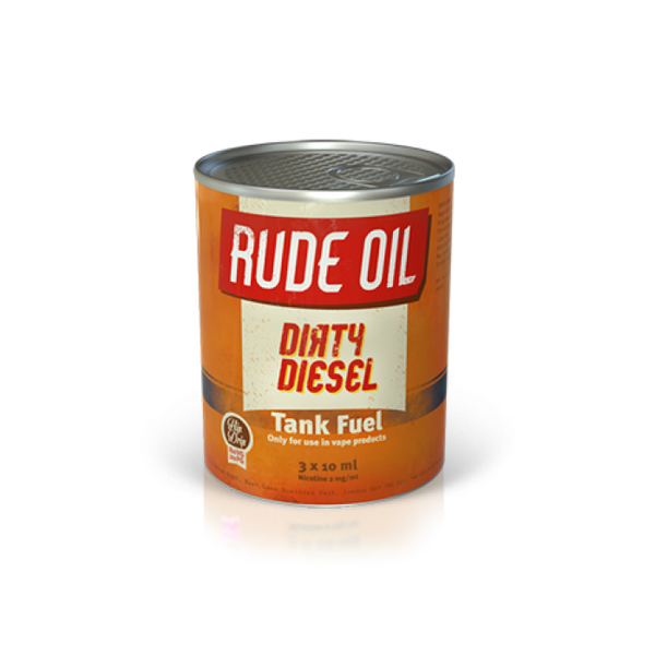 Rude Oil 80/20 Dirty Diesel 30ml - The Vapour Co.