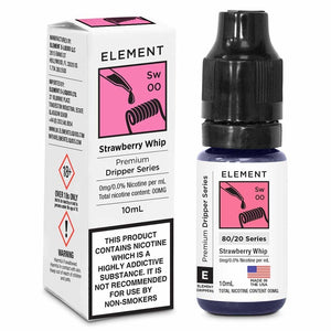 Element 80/20 Strawberry Whip - The Vapour Co.