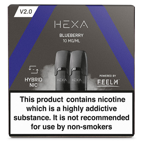 Hexa Blueberry Hexa V2.0 pod - The Vapour Co.