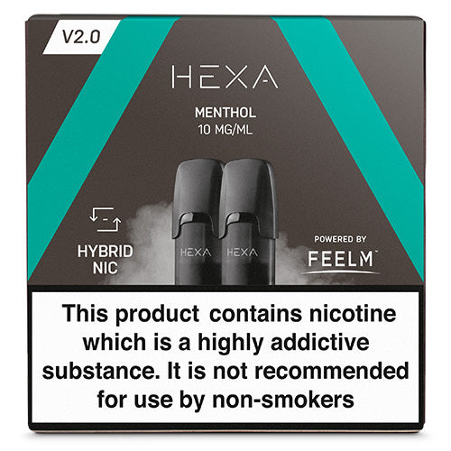 Hexa Menthol Hexa V2.0 pod - The Vapour Co.