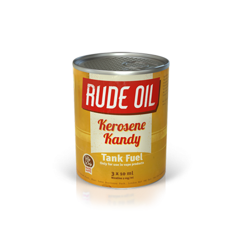Rude Oil 80/20 Kerosene Kandy 30ml - The Vapour Co.
