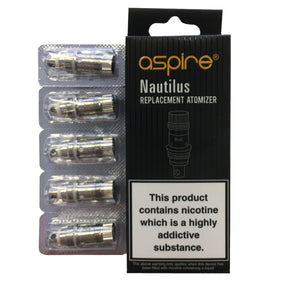 Aspire Nautilus Coils - The Vapour Co.