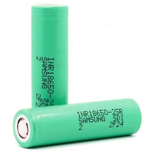 Samsung Samsung 25r 18650 Battery - The Vapour Co.