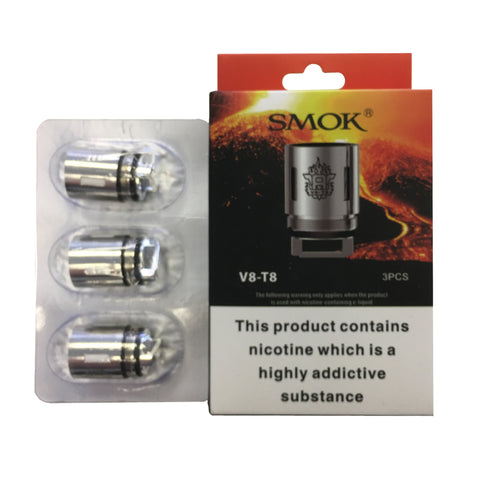 Smok TFV8 coils - The Vapour Co.