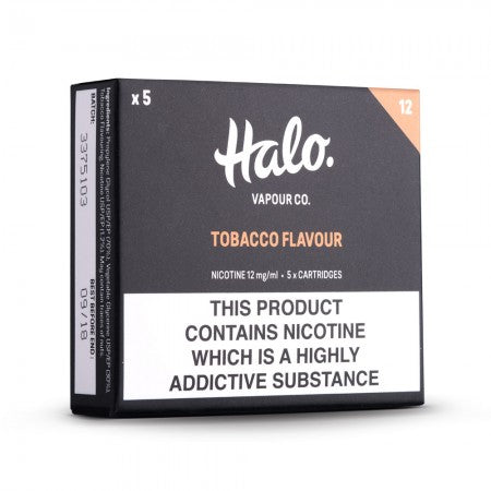 Halo Cigalike cartridges - The Vapour Co.