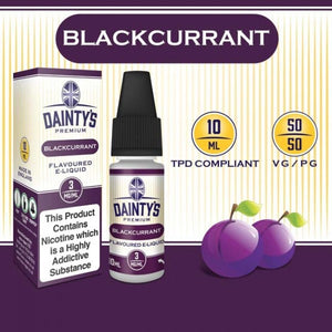 Dainty's 50/50 Blackcurrant - The Vapour Co.