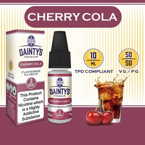 Dainty's 50/50 Cherry Cola - The Vapour Co.