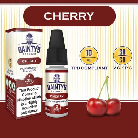 Dainty's 50/50 Cherry - The Vapour Co.