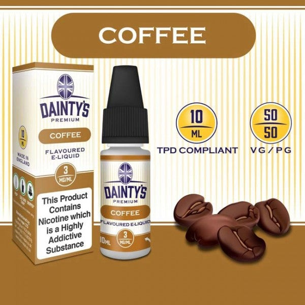 Dainty's 50/50 Coffee - The Vapour Co.