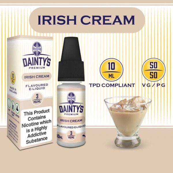 Dainty's 50/50 Irish Cream - The Vapour Co.