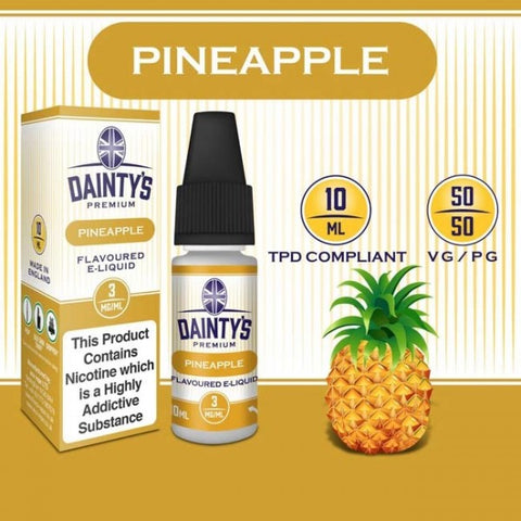 Dainty's 50/50 Pineapple - The Vapour Co.