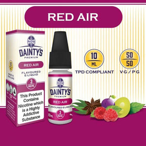 Dainty's 50/50 Red Air - The Vapour Co.
