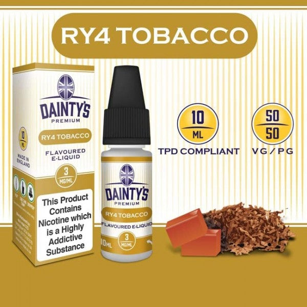 Dainty's 50/50 RY4 - The Vapour Co.