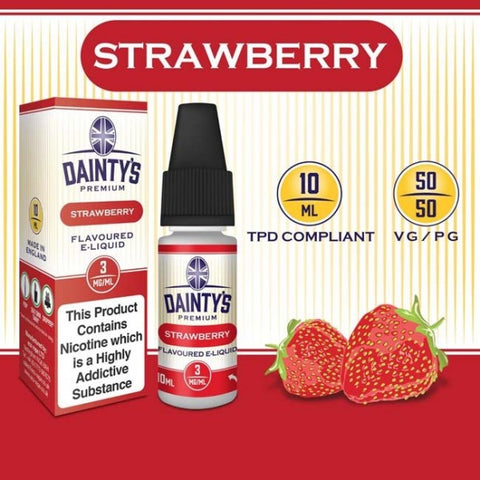 Dainty's 50/50 Strawberry - The Vapour Co.