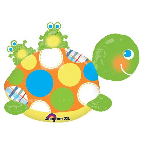 "29"" Turtle Shaped Balloon - Party Zone USA"