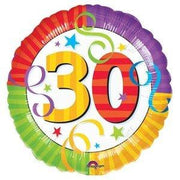 30th Birthday Balloon - Party Zone USA