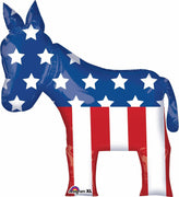 "32"" Democratic Party Election Donkey Balloon - Party Zone USA"