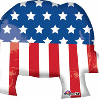 "40"" Republican Party Election Elephant Balloon - Party Zone USA"