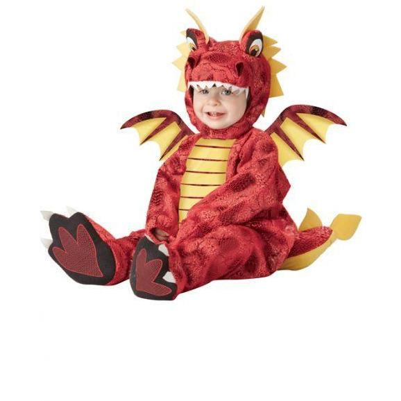 Adorable Dragon Infant Costume - Party Zone USA