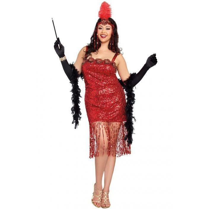 Ain't She Sweet Flapper Costume - Plus Size - Party Zone USA