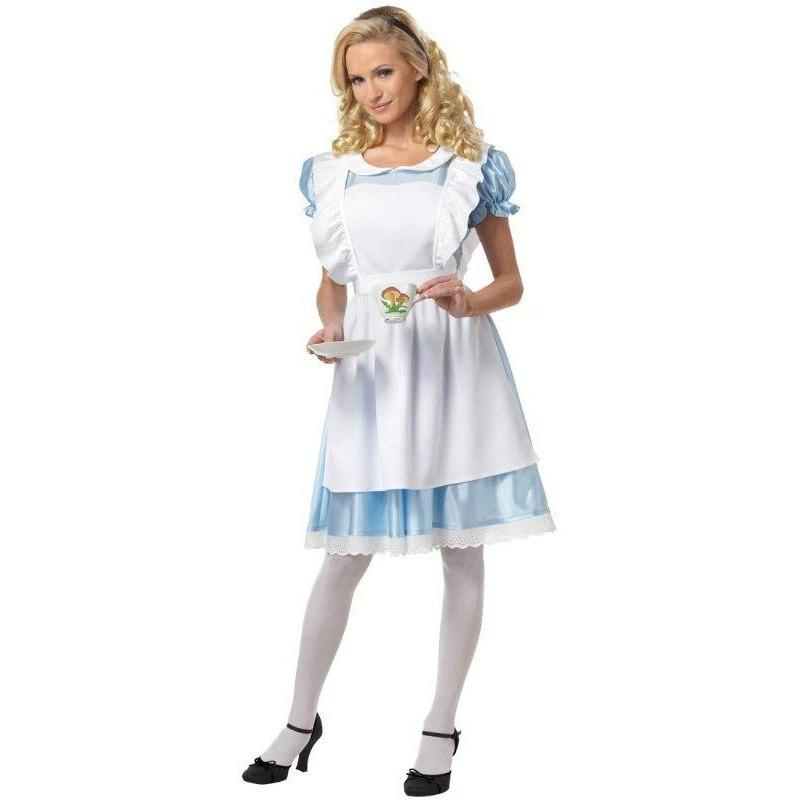 Alice in Wonderland Costume - Women's - Party Zone USA