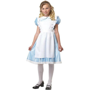 Alice in Wonderland Girl's Costume - Party Zone USA