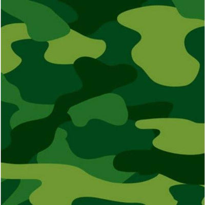 Army Camo Party Luncheon Napkins (16) - Party Zone USA