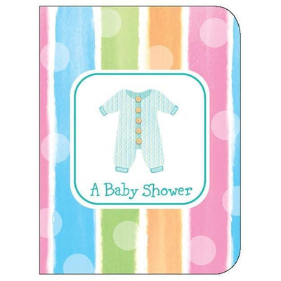 Baby Clothes Shower Invitations (8) - Party Zone USA