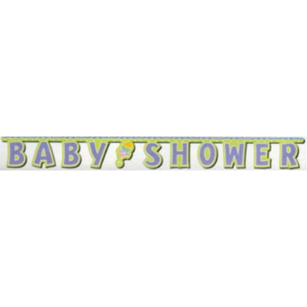 Baby Plaid Jointed Banner - Party Zone USA