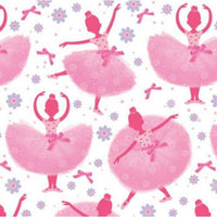 Ballerina TuTu Much Fun Beverage Napkins (16) - Party Zone USA