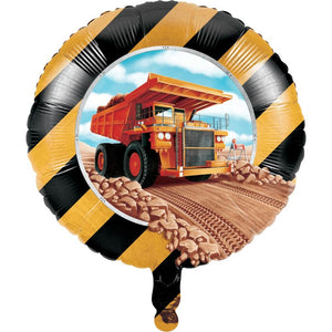 Big Dig Construction Trucks Party Balloon - Party Zone USA