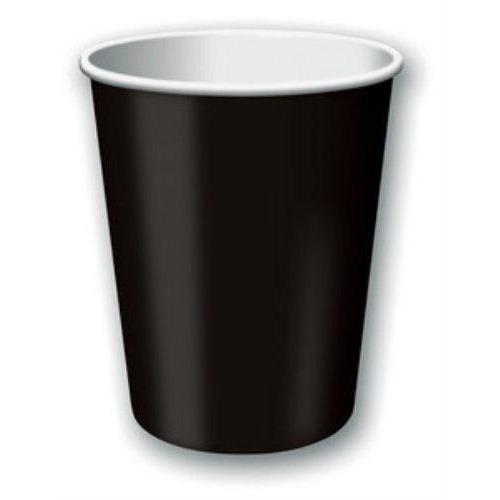 Black 9oz Party Cups (24) - Party Zone USA
