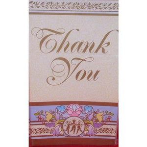 Blessed Events Religious Party Thank You Cards (8) - Party Zone USA