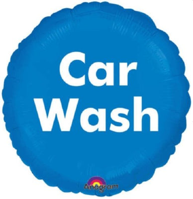 Blue Car Wash Foil Balloon - Party Zone USA