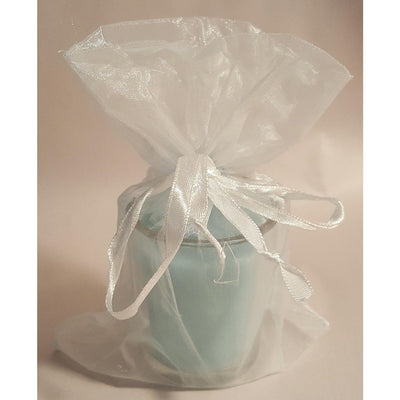 Blue Favor Votive Candle (1) - Party Zone USA