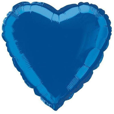 Blue Heart Shaped Balloon - Party Zone USA