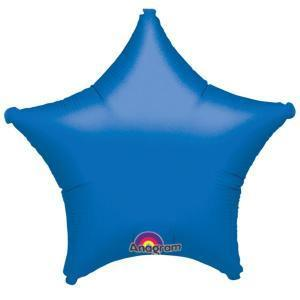 Blue Star Shaped Balloon - Party Zone USA