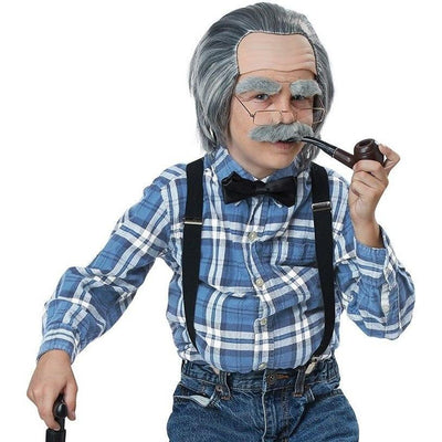 Boy's Old Man Costume Kit - Party Zone USA