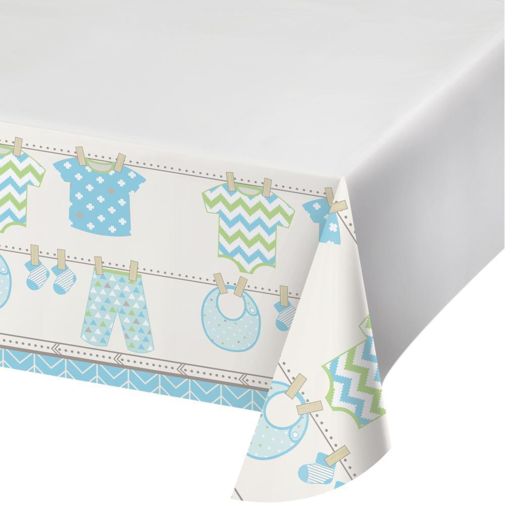 Bundle of Joy Boy Table Cover - Party Zone USA