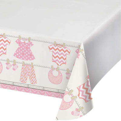Bundle of Joy Girl Table Cover - Party Zone USA