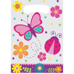 Butterfly Garden Party Loot Bags (8) - Party Zone USA