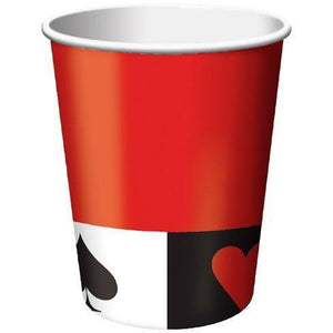 Card Night Cups (8) - Party Zone USA