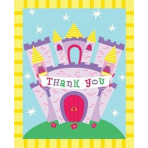 Castle Fun Thank You Cards - Party Zone USA